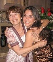 Jessica John and her mom