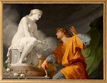 Pygmalion by Jean-Baptiste Regnault, 1786