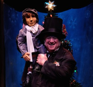 Tiny Tim and Scrooge