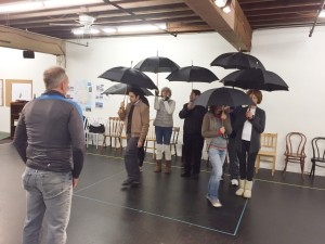 When the Rain Stops Falling Rehearsal