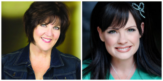 On the Twentieth Century cast members: Melinda Gilb & Eileen Bowmann