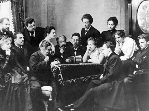 Chekhov reads The Seagull with the Moscow Art Theatre company
